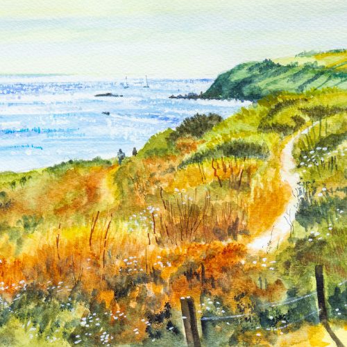 The Headland (after Richard Thorne) Thumbnail