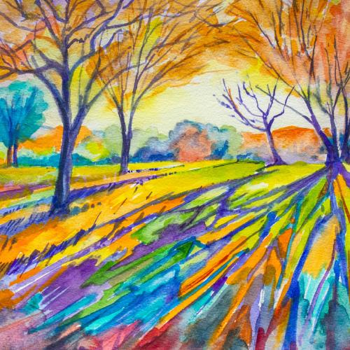 Morning Sun (after Erin Hansen) Thumbnail